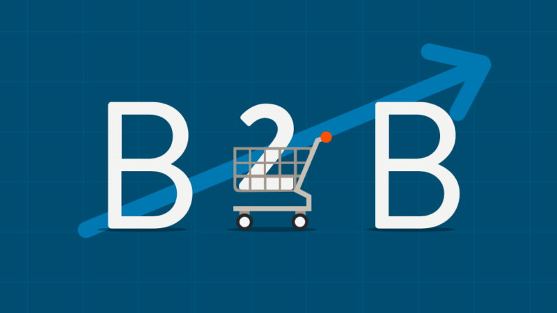 B2B and trolley with progress
