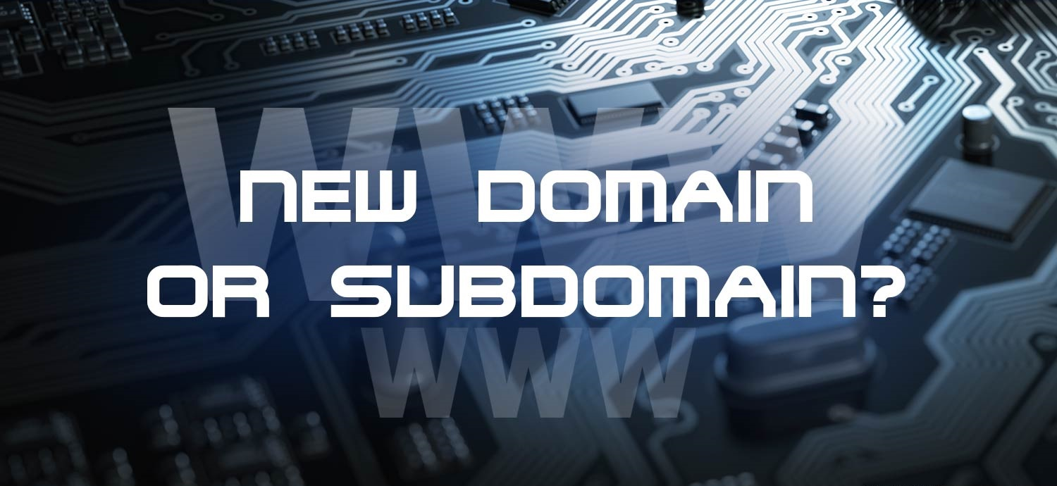Large domain or subdomain inscription