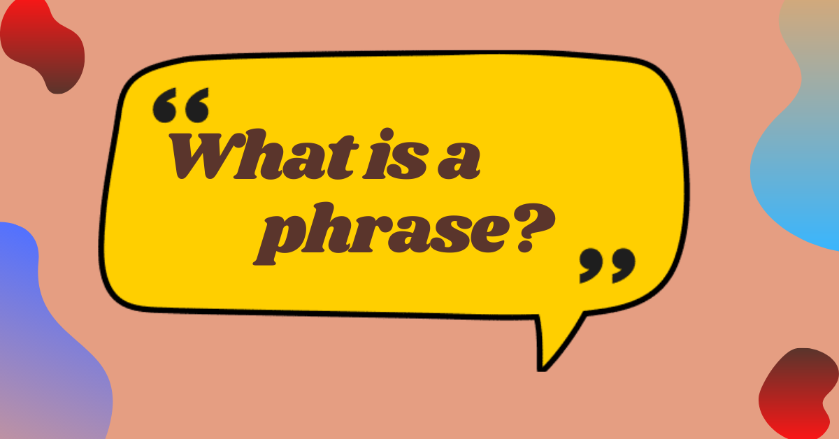 """The quote """"what is a phrase"""" in the cloud"""